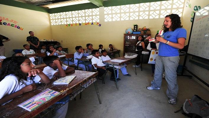 Salón de clases / Curso de pedagogía
